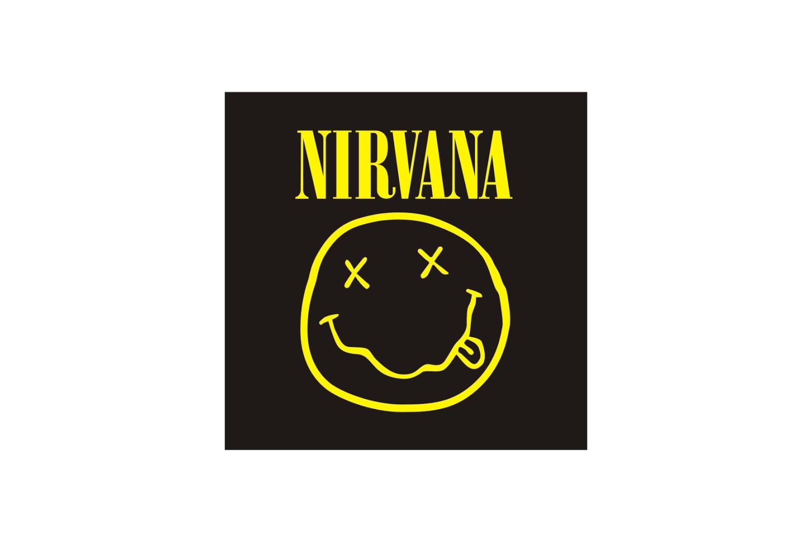 Pin Nirvana Logo Vector Wallpaper 1600x1067