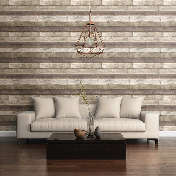 Weathered Plank Rust Wood Texture Wallpaper   Industrial   Living Room 600x603
