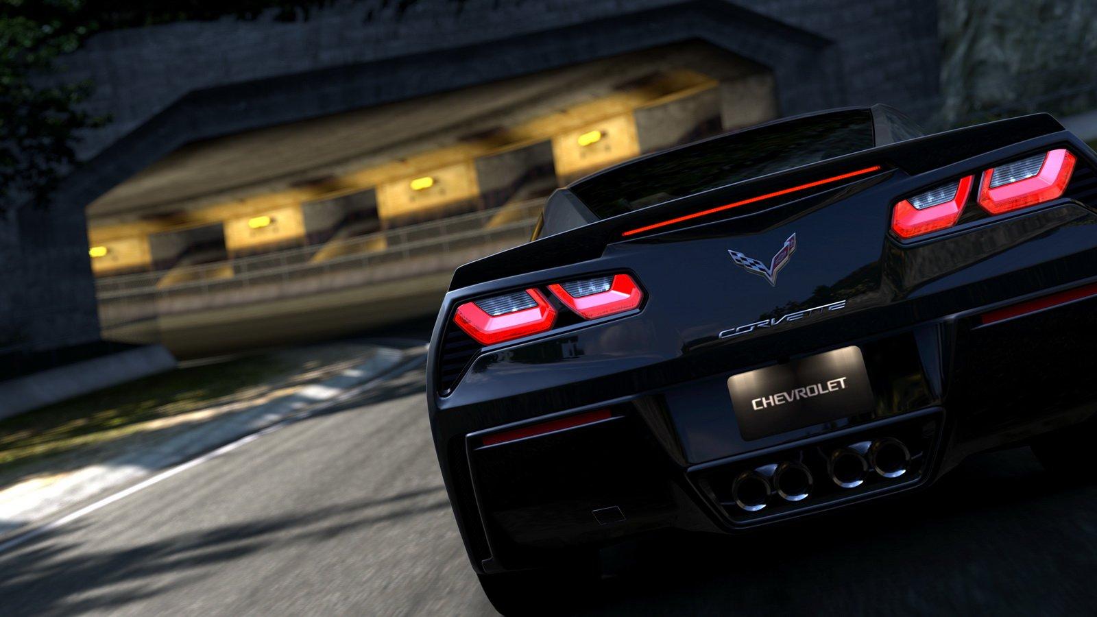 Corvette Logo Wallpaper Widescreen