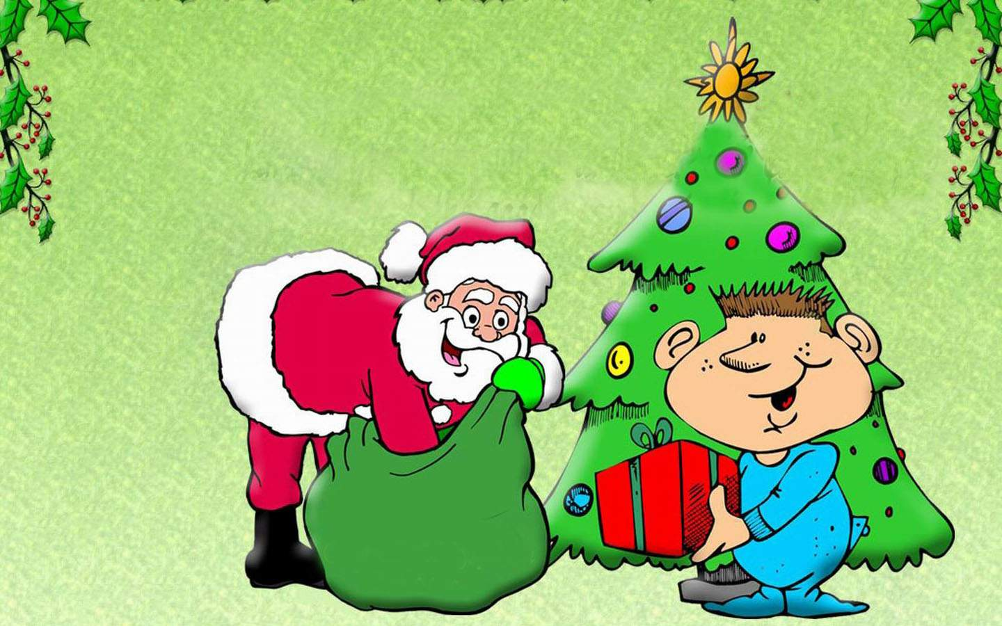 Funny Christmas Wallpapers 1440x900