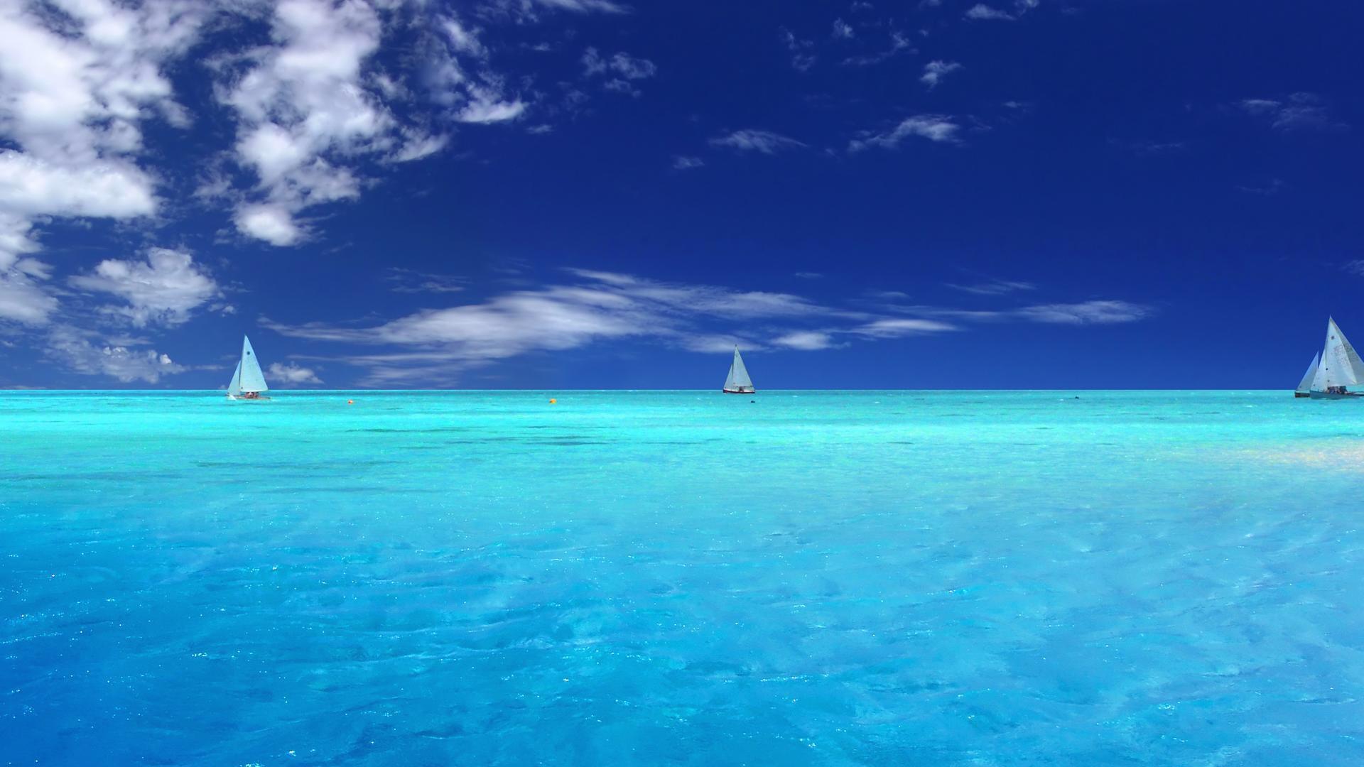 Clear Ocean Water Wallpaper HD 1920x1080 5349 1920x1080