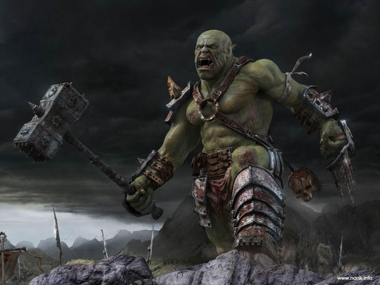 Fantasy   Orcs 1280x960