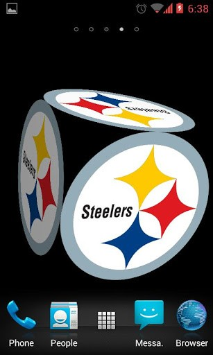 View bigger   Steelers Live Wallpaper for Android screenshot 307x512