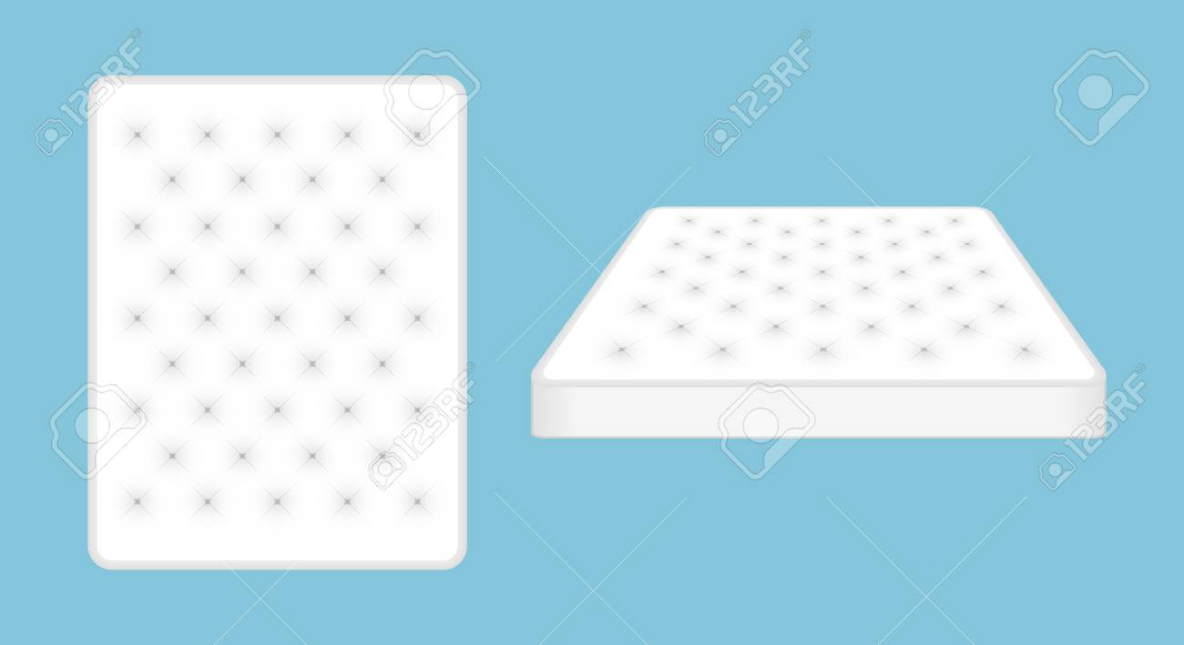 Mattress For Comfortable Sleep Background Modern Soft Foam 1300x709