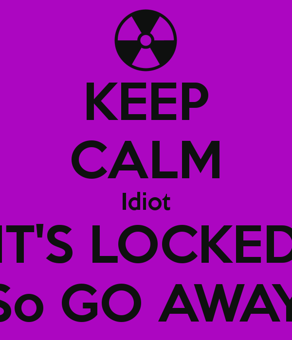 Its Locked Wallpapers 600x700