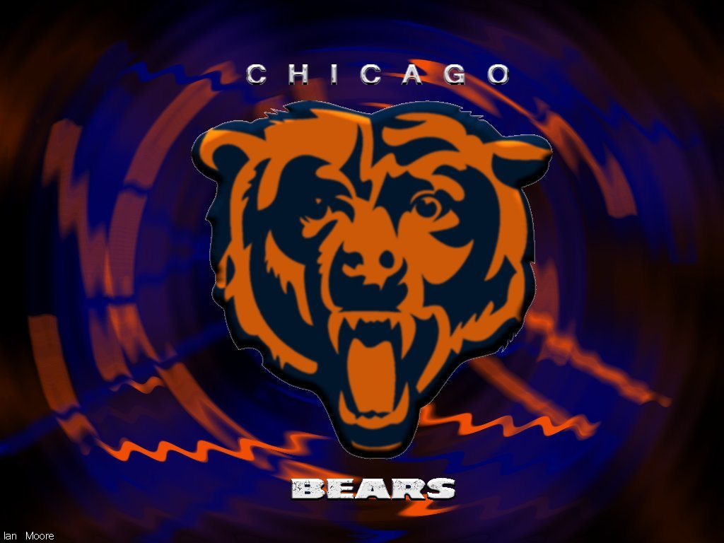 Background of the day Chicago Bears Chicago Bears wallpapers 1024x768