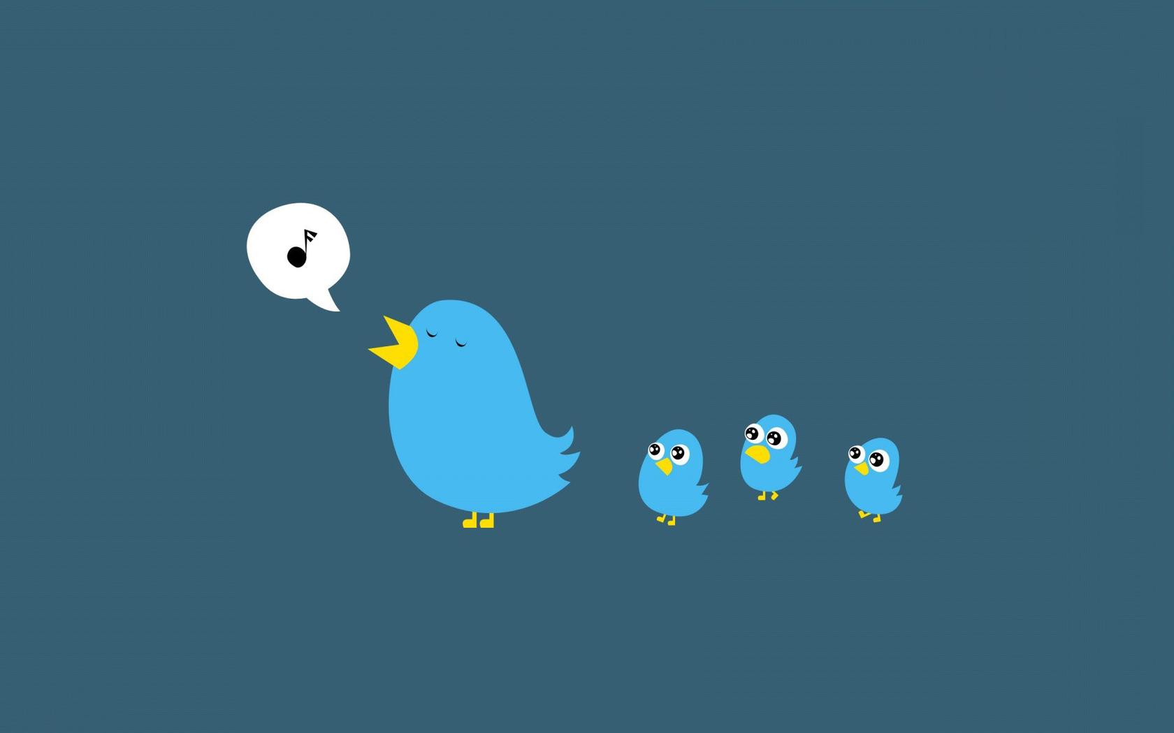 Blue birds wallpaper 13498 1680x1050