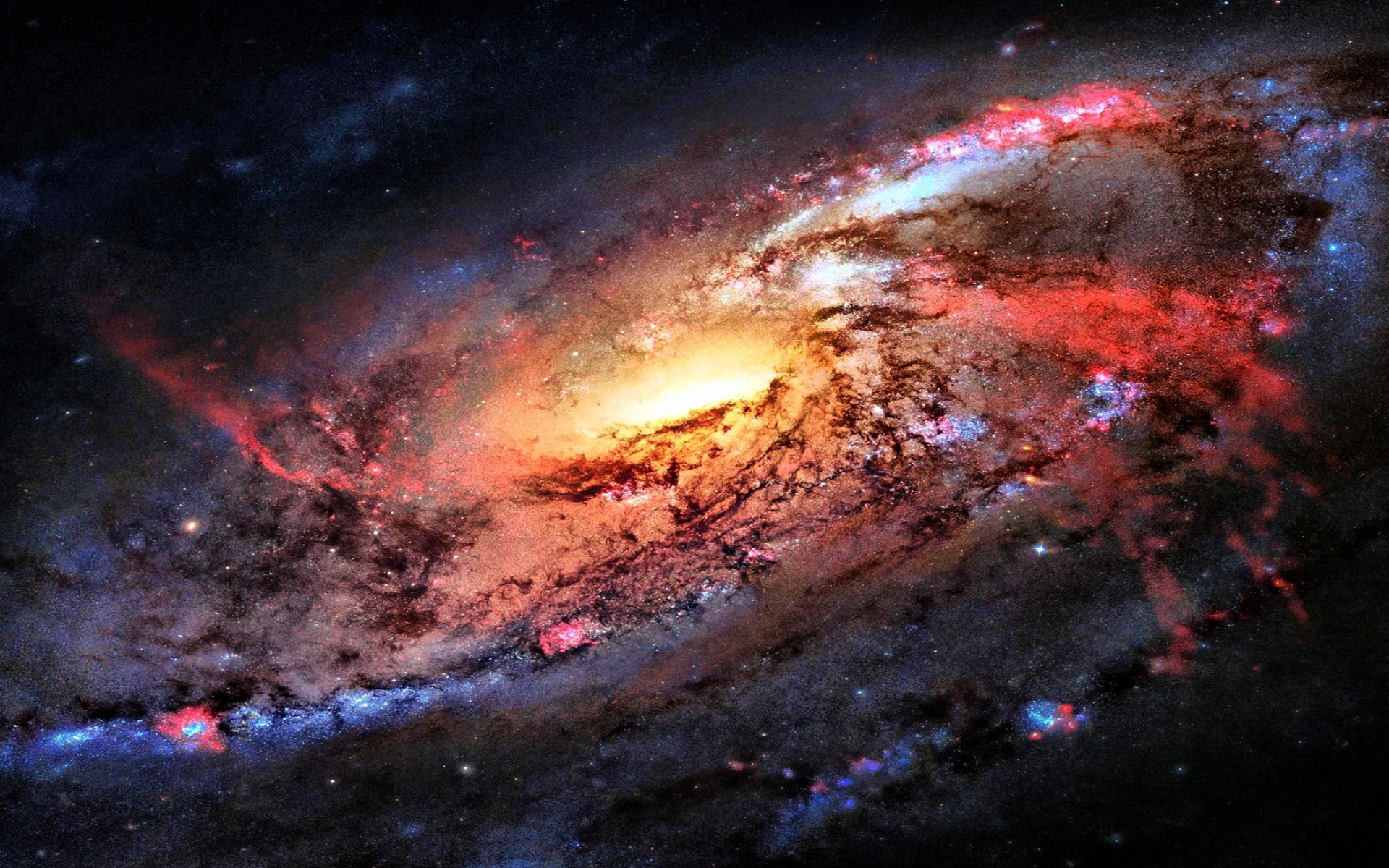 space flight sky stars Space HD Wallpaper 1920x1200