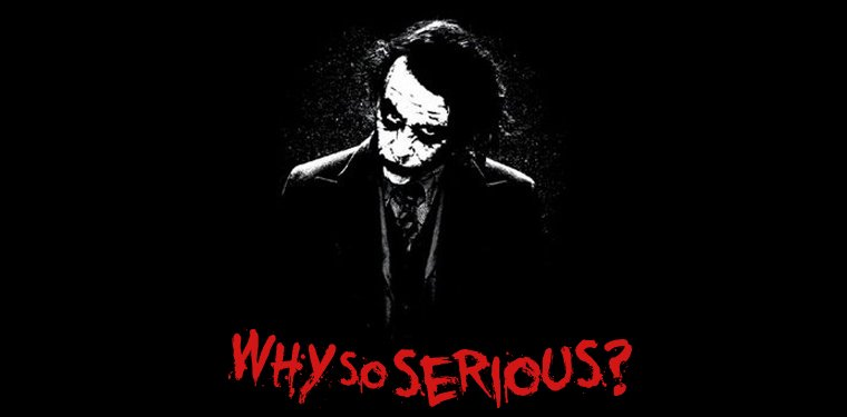 joker why so serious wallpaper wallpapersafari