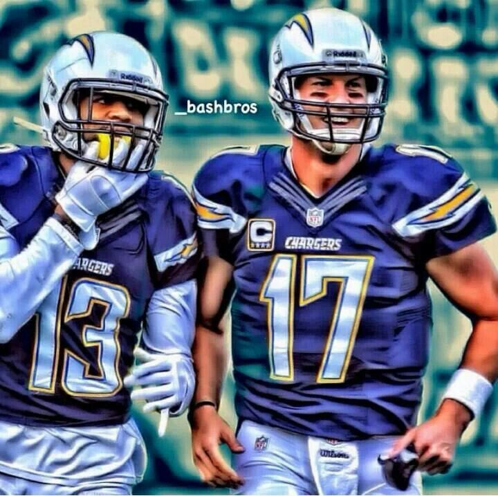 San Diego Chargers Phillip Rivers Keenan Allen Chargers San 720x717