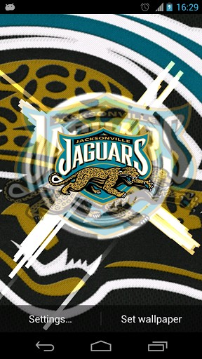 View bigger   Jacksonville Jaguars Wallpaper for Android screenshot 288x512