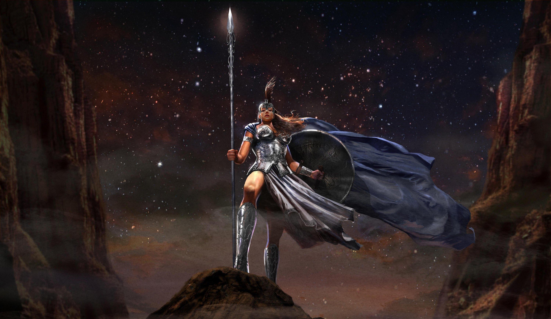 fantasy myth greece goddess athena the goddess wallpapers fantasy 3000x1738