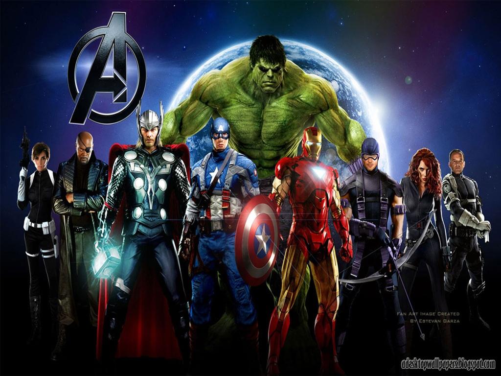 Avengers 2012 Movie Desktop Wallpapers PC Wallpapers Wallpaper 1024x768