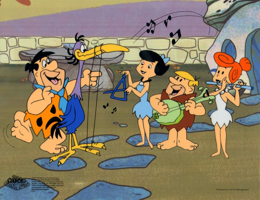 The Flintstones images The Flintstones Animation Sericel cel wallpaper 900x692