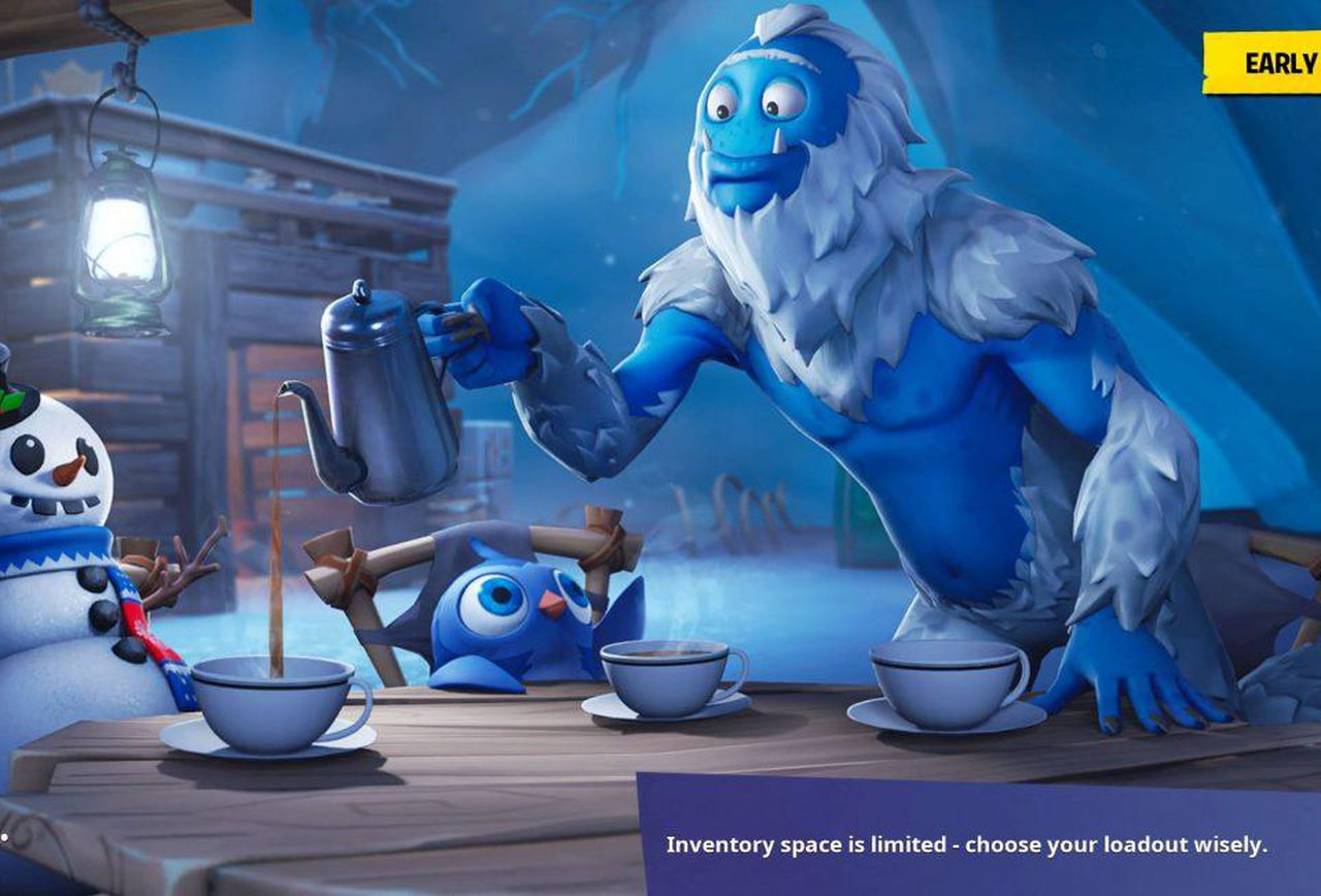 Fortnite Snowfall Challenge Location Where To Find The Secret 1280x868