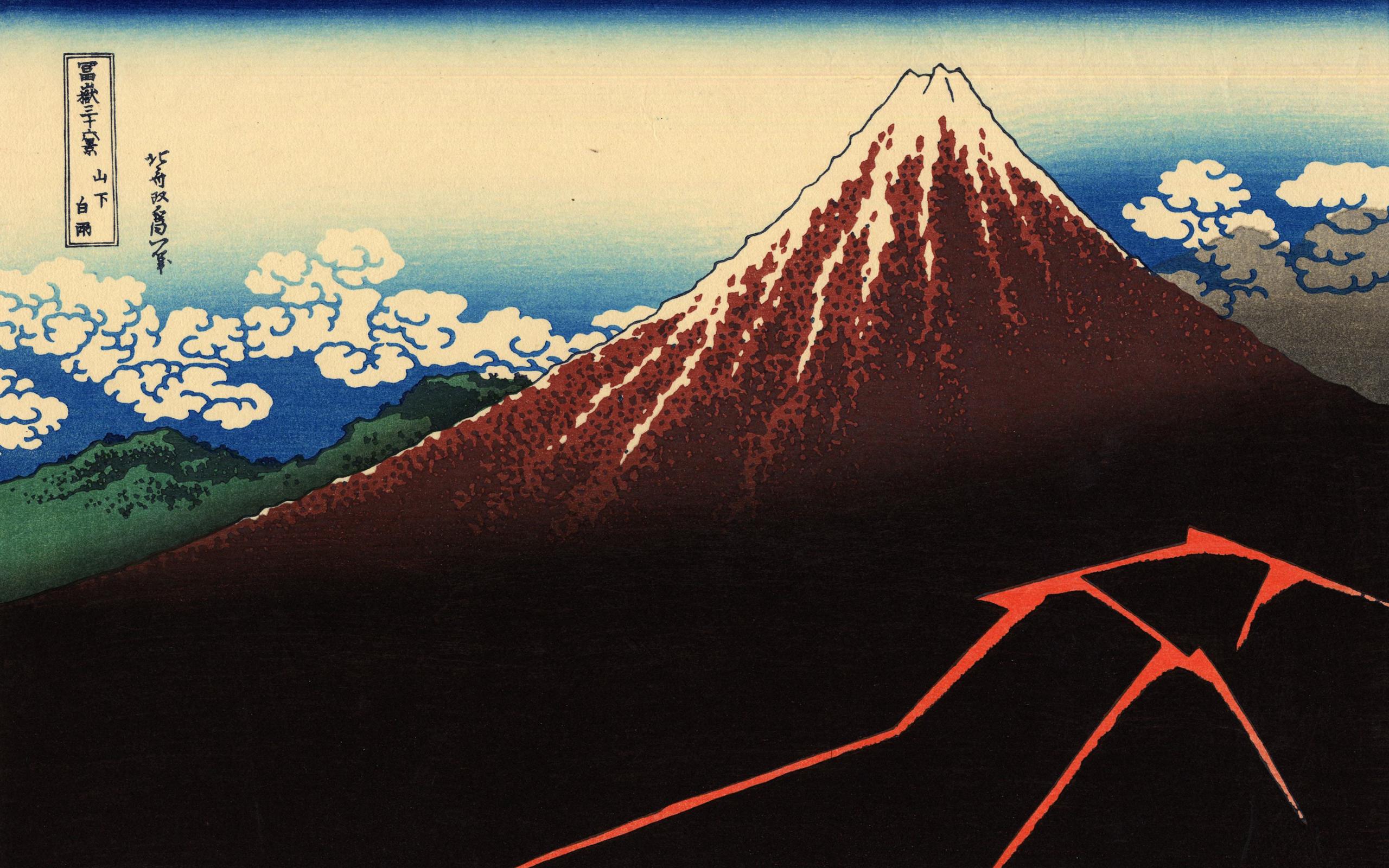 Art Hokusai Wallpaper Hokusai Wallpapers 2560x1600