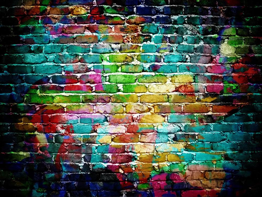 Graffiti Brick Wallpaper Wallpapersafari
