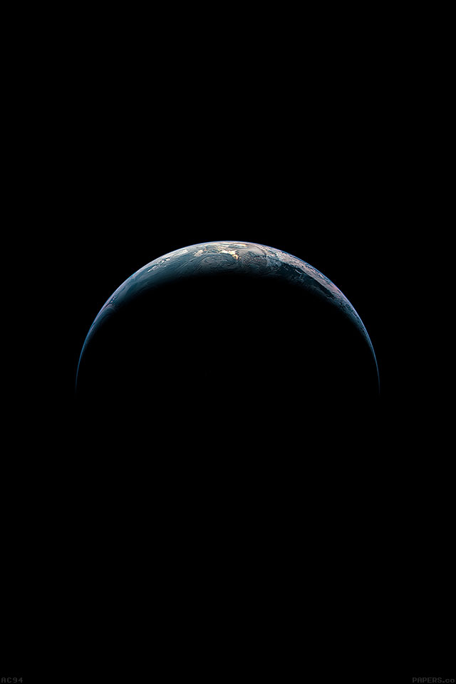 earth from sky   parallax HD iPhone iPad wallpaper iPhone 640x960