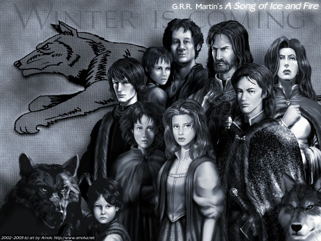 House Stark   A Song of Ice and Fire Wallpaper 27631682 1024x768