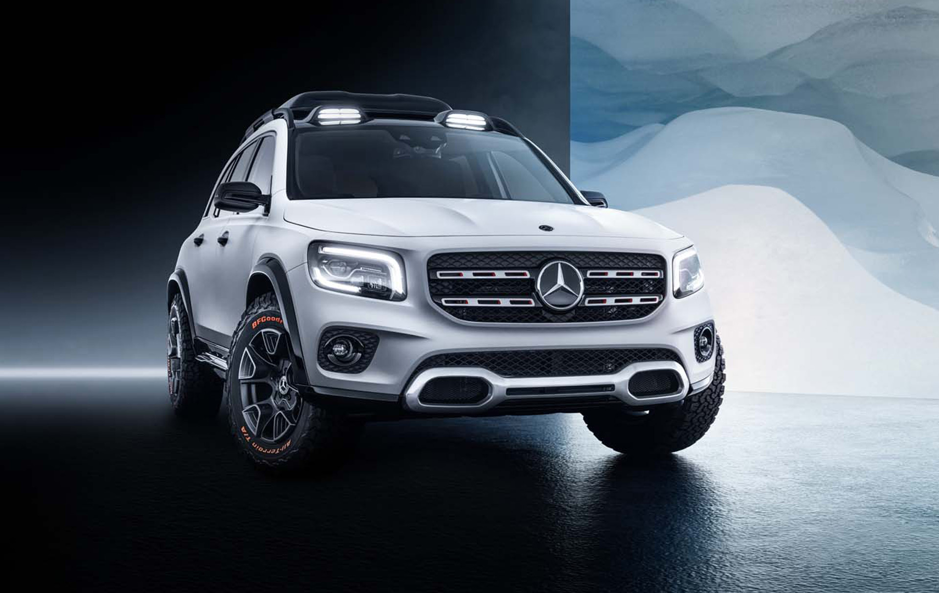 GLB concept previews a more rugged Mercedes compact SUV 1920x1212