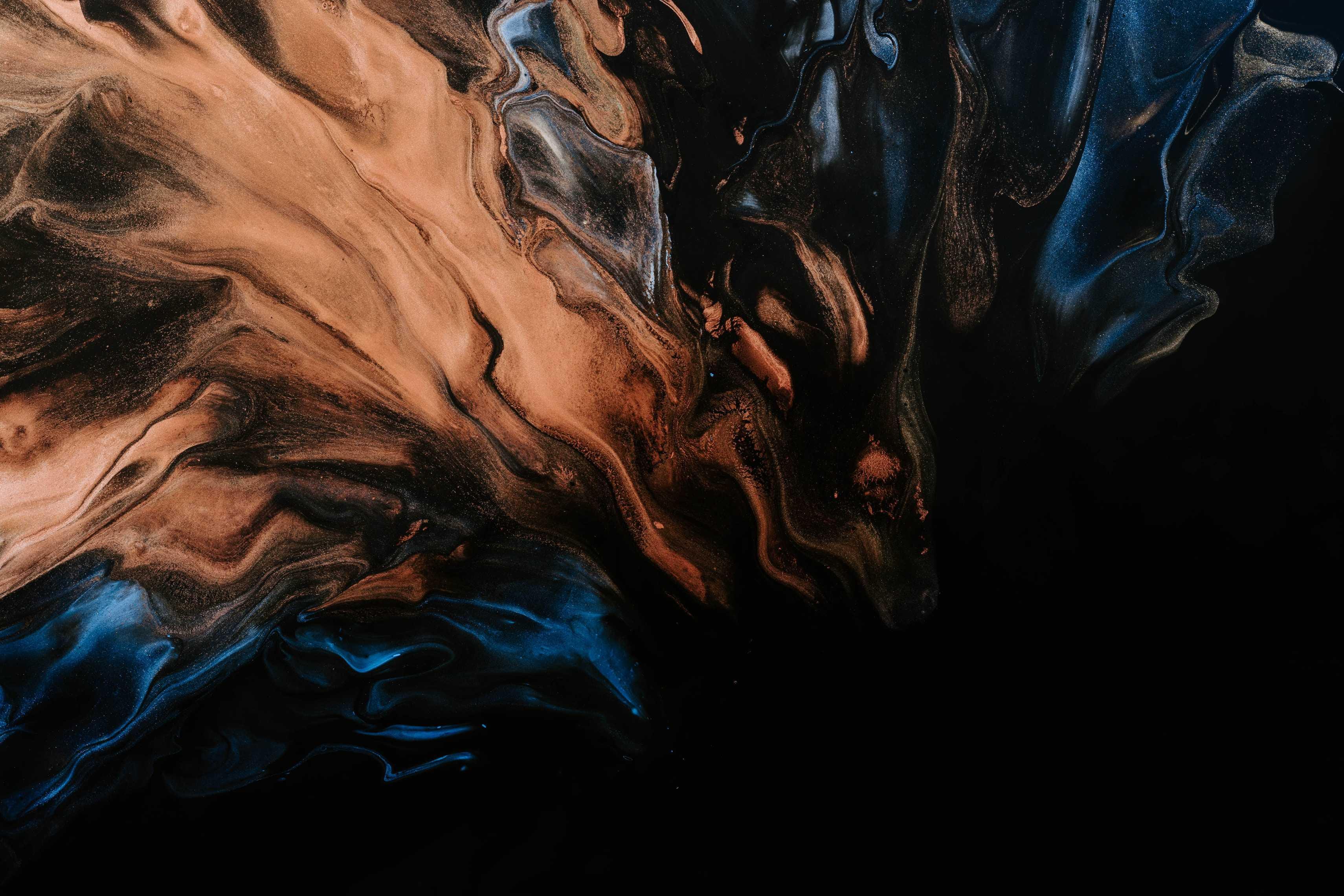 Black Paint Wallpapers 3420x2280