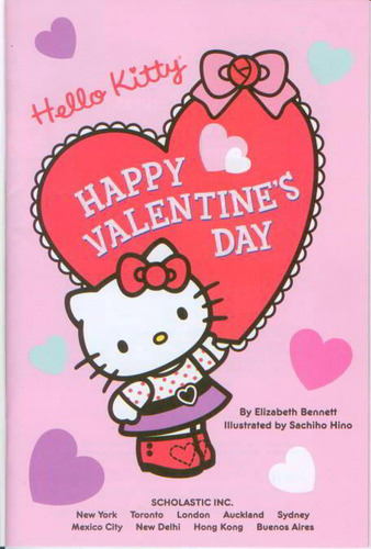 Hello Kitty Valentine S Day Wallpaper Wallpapersafari