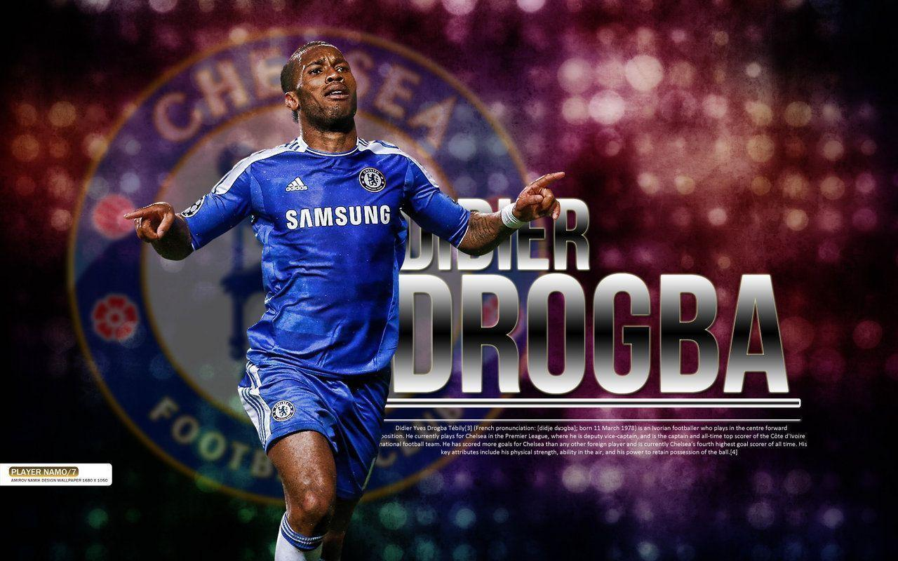 Free download Drogba Chelsea Wallpapers [1280x800] for your