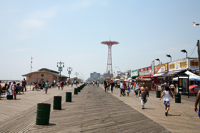Coney Island Boardwalk   New York Pictures 660x440