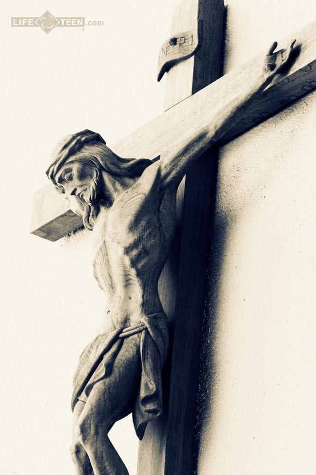 Catholic Wallpaper Crucifix Wallpapersafari