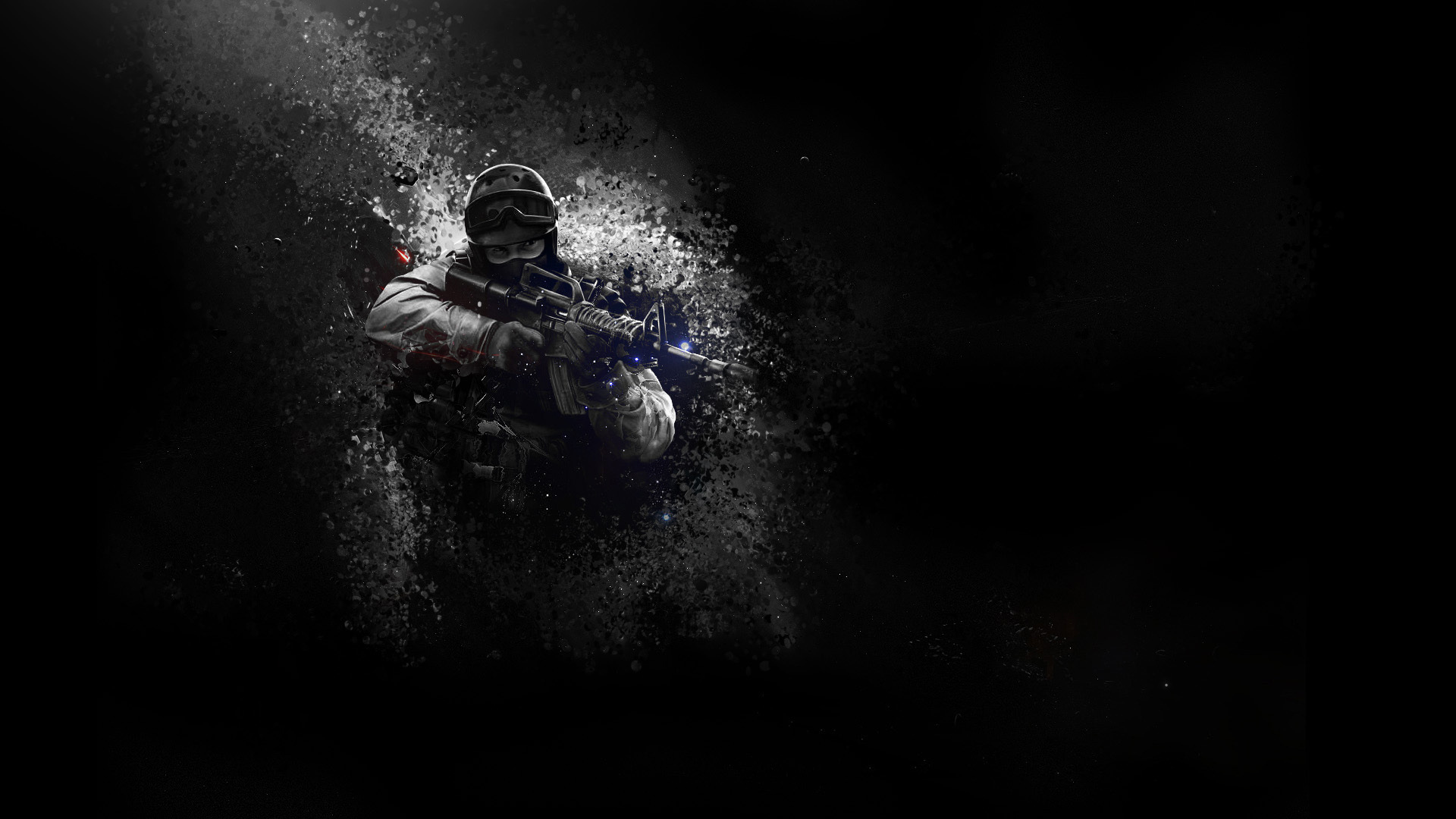 Pubg Black And White Wallpaper Hd: CS GO Wallpaper HD