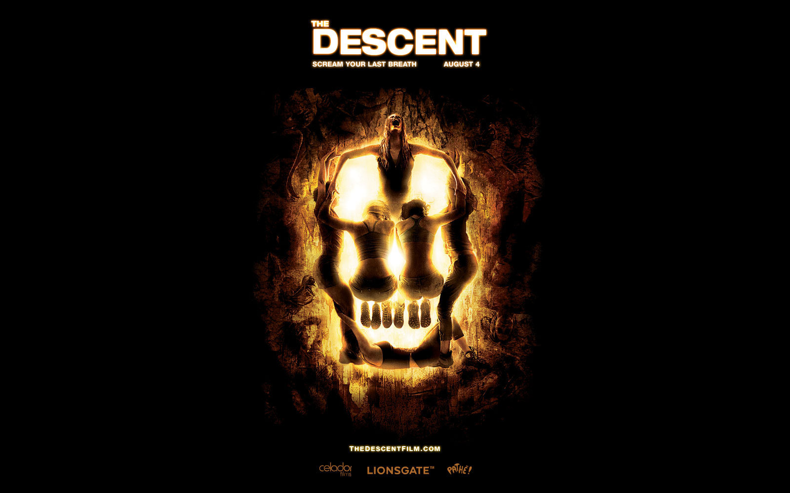 Horror Movies images The Descent wallpaper HD wallpaper and 1600x1000