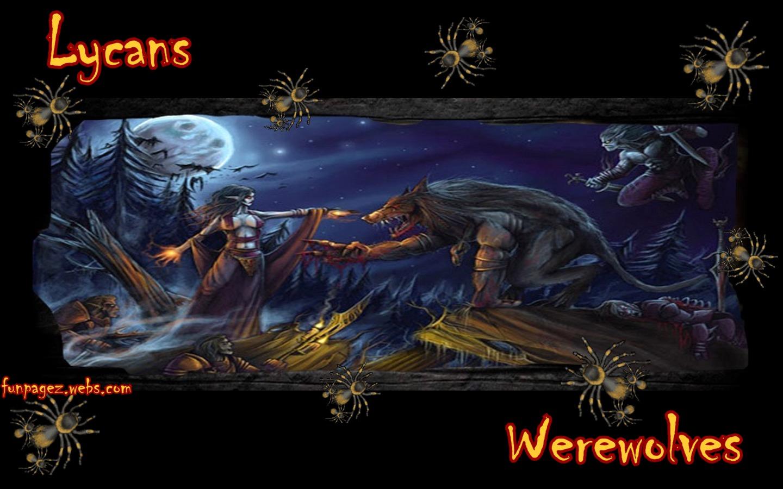 Werewolves Lycans Wallpaper by Mardis Funpagez Featuring The Dark 1440x900