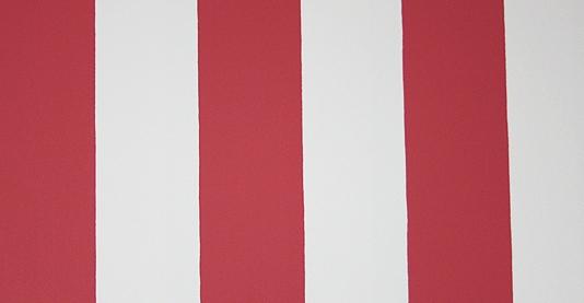 William Stripe Wallpaper Red and white striped wallpaper 534x277