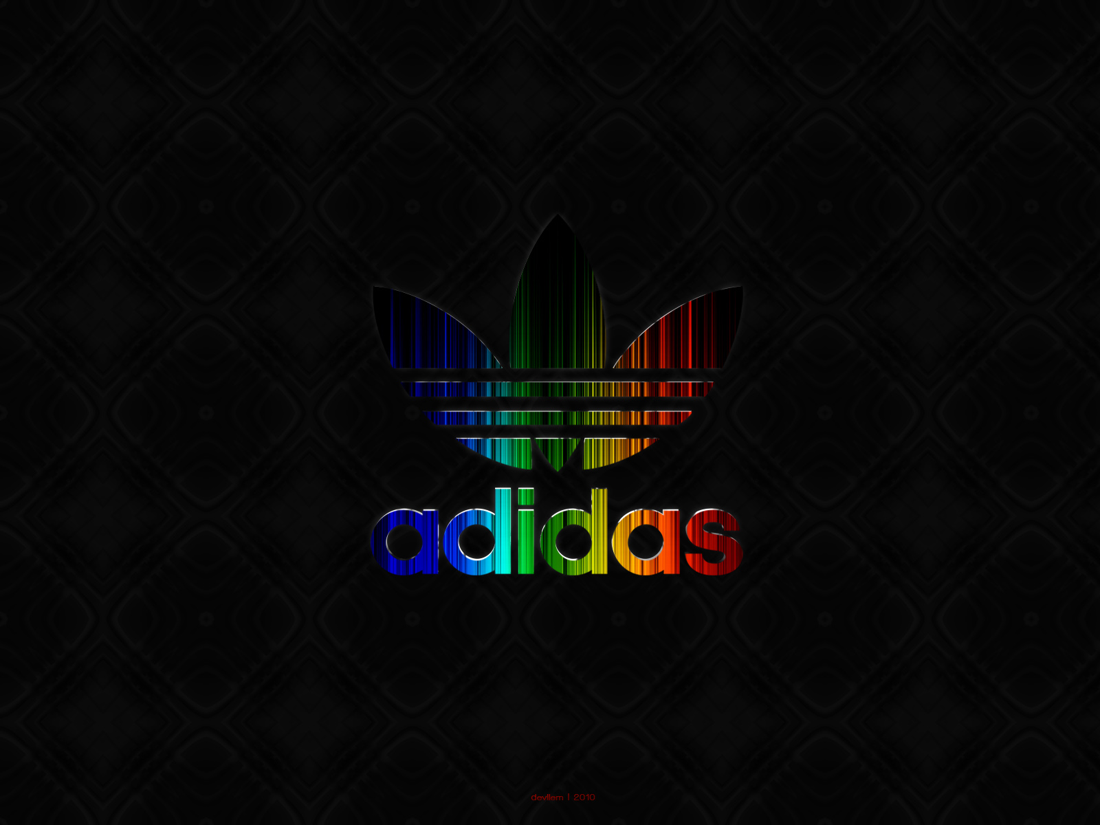 Adidas Logo Neon Full Hd Wallpaper Pictures to pin on 1600x1200