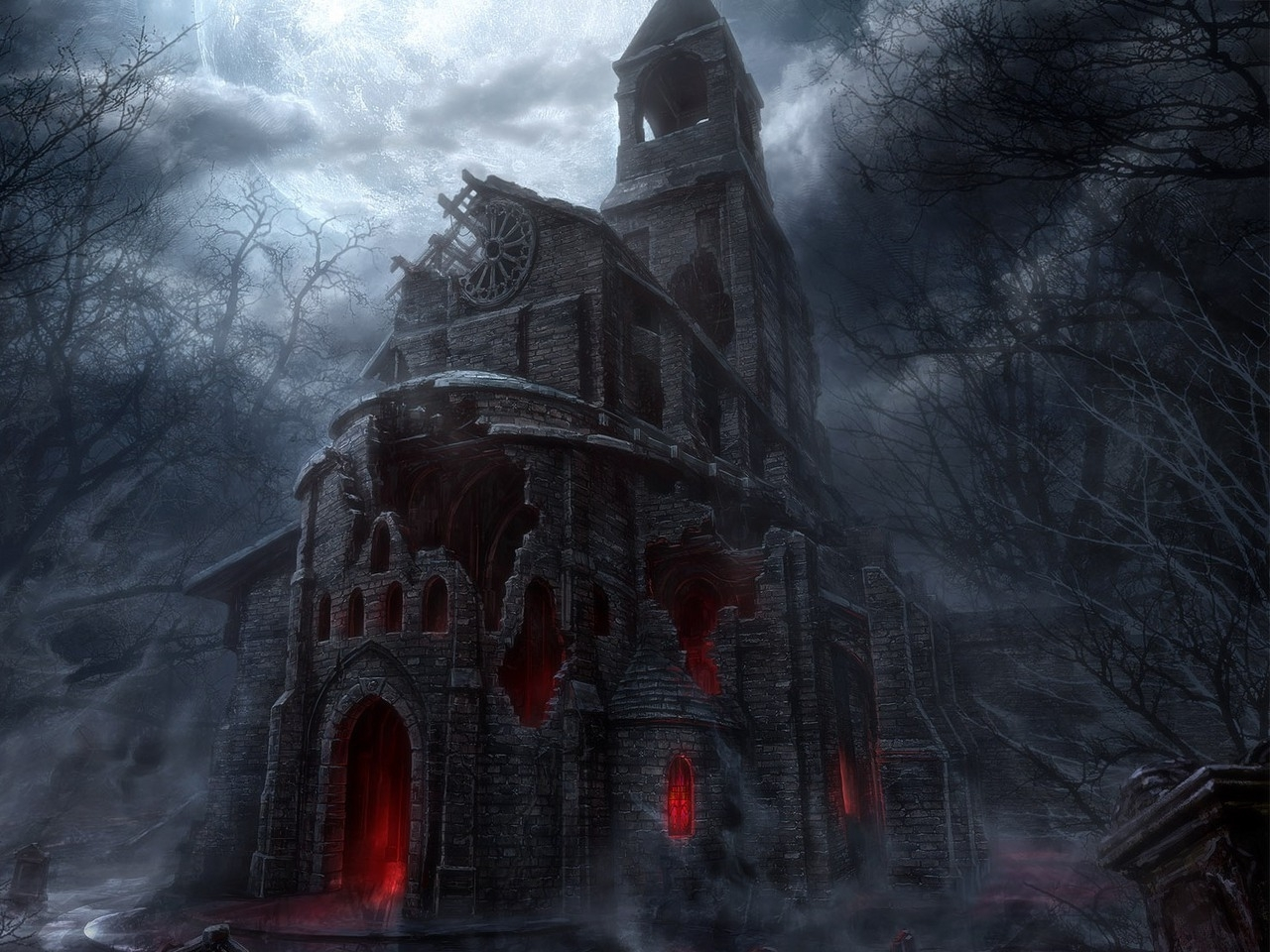 Halloween images Haunted House HD wallpaper and background photos 1280x960
