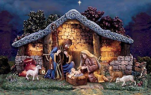 Nativity Scene Desktop Wallpaper  WallpaperSafari