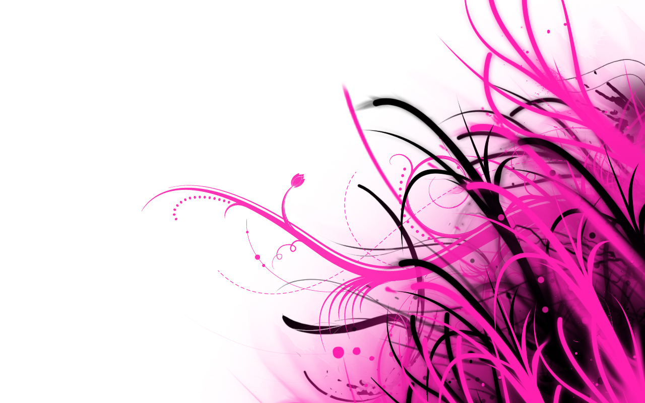 Abstract Wallpaper Pink and White by PhoenixRising23 1280x800