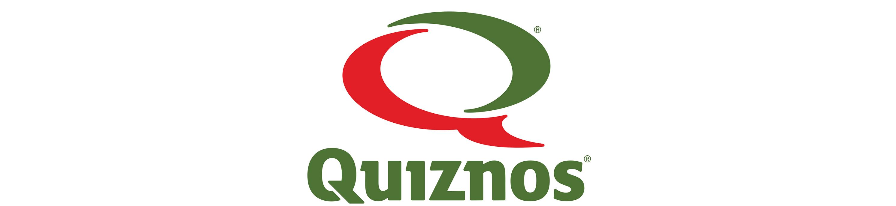 Quiznos Logos 2984x687