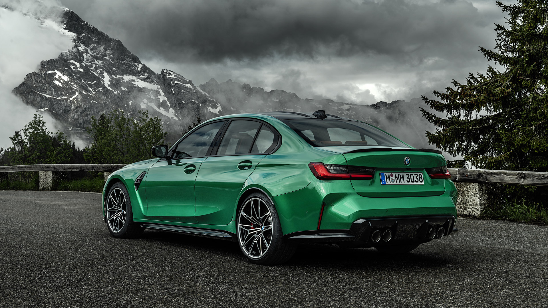 2021 BMW M3 Competition Wallpapers Specs Videos   4K HD 1920x1080