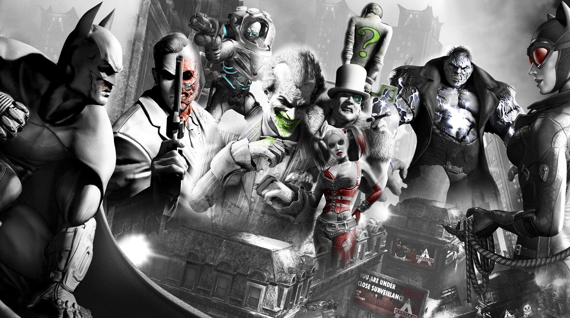 batman arkham city desktop wallpaper - wallpapersafari