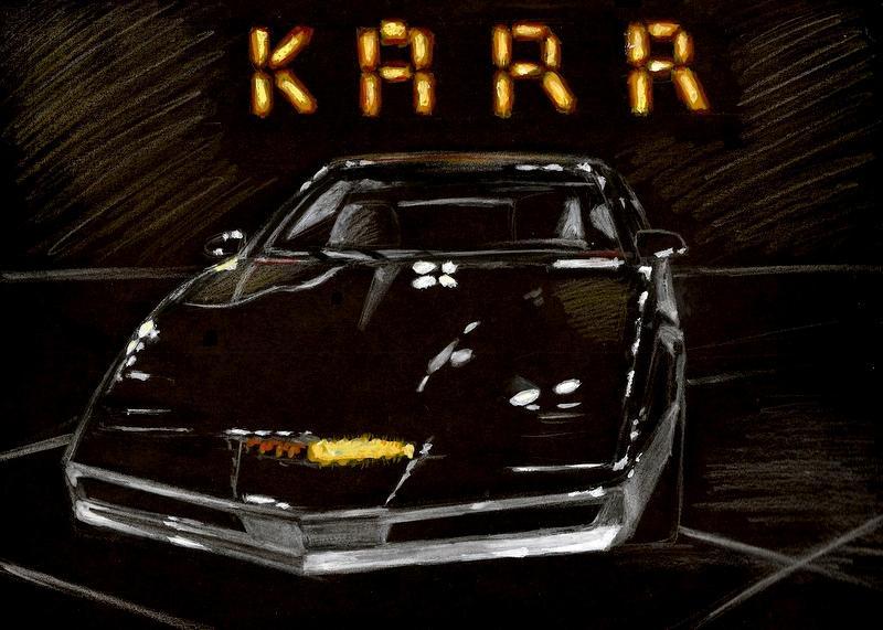 ... Knight Rider Live Wallpaper Apk: Karr Vs Kitt Wallpaper