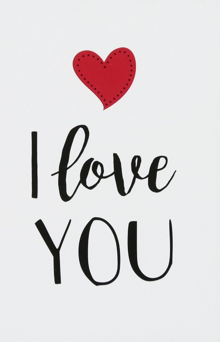 I Love You   Romantic Quotes for Valentines Day Gift Amazonco 720x1116