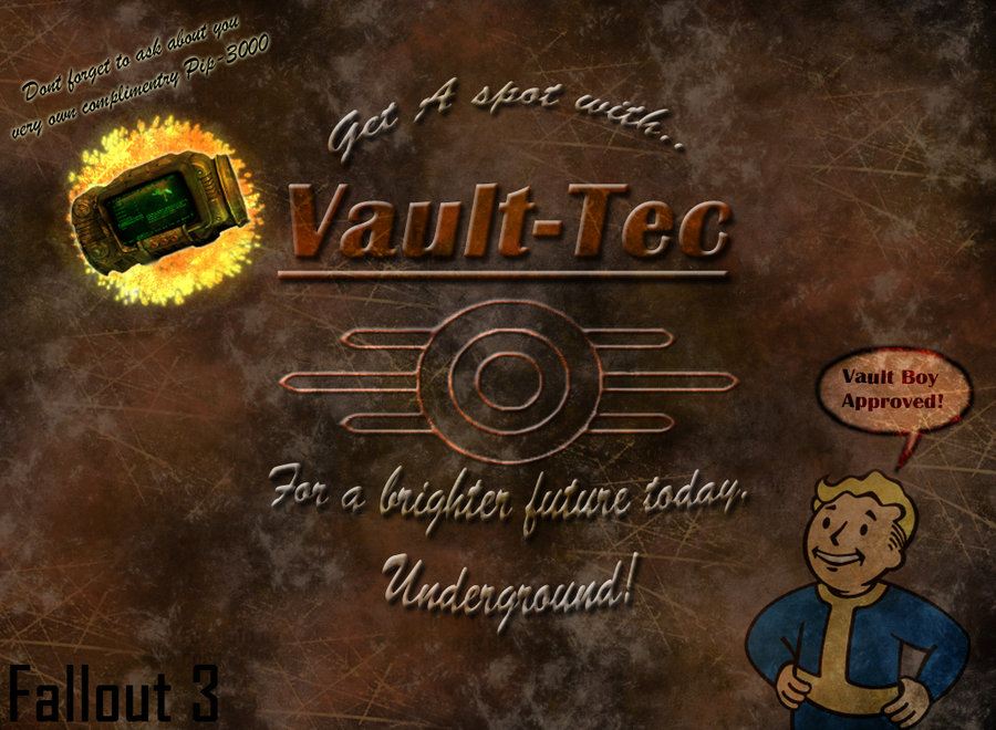 49+] Vault Tech Wallpaper on WallpaperSafari