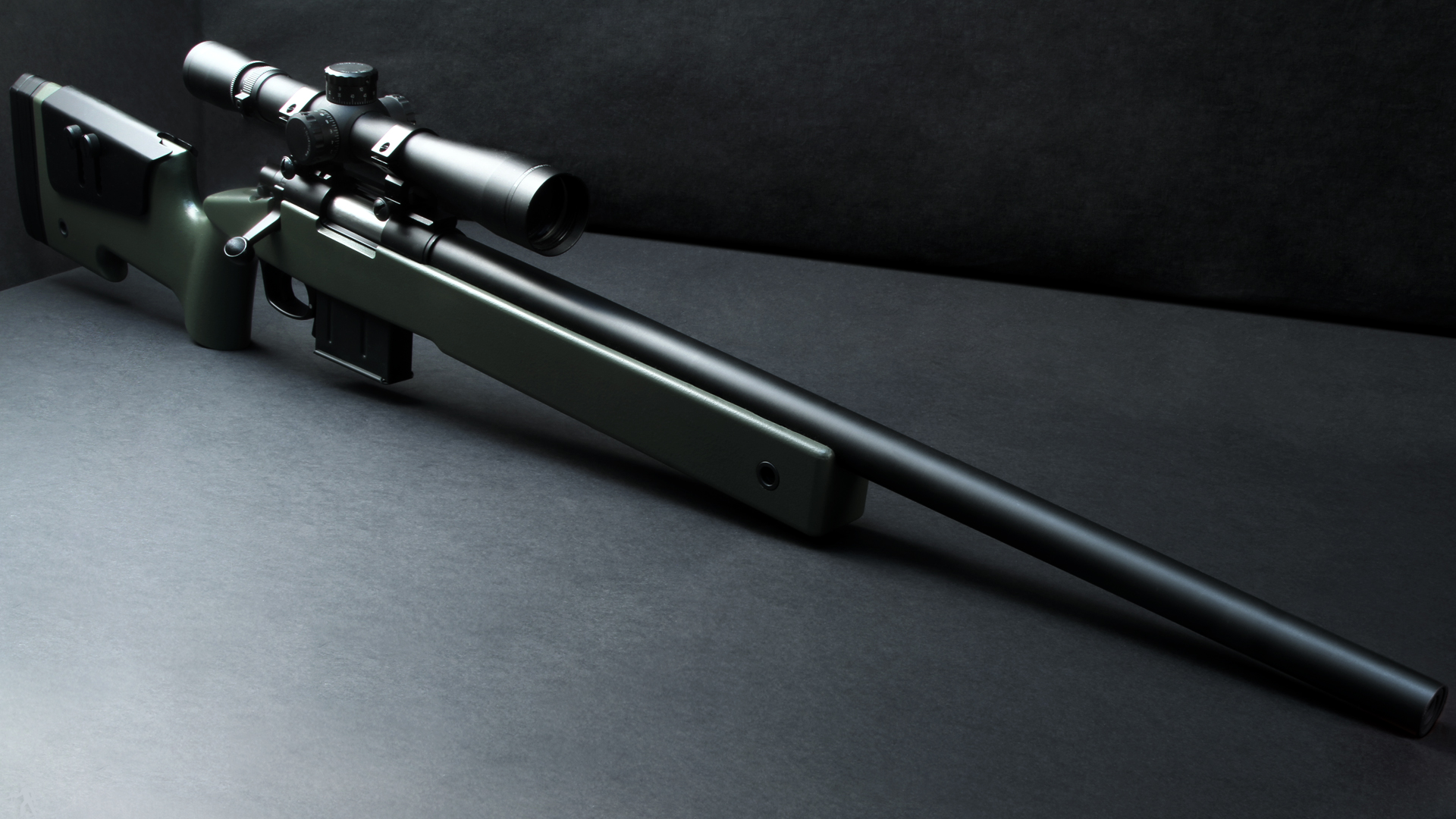 ARES M40A5 USMC Sniper Rifle Pototype 1920x1080