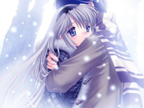 Anime Couple Hd Wallpaper Wallpapersafari