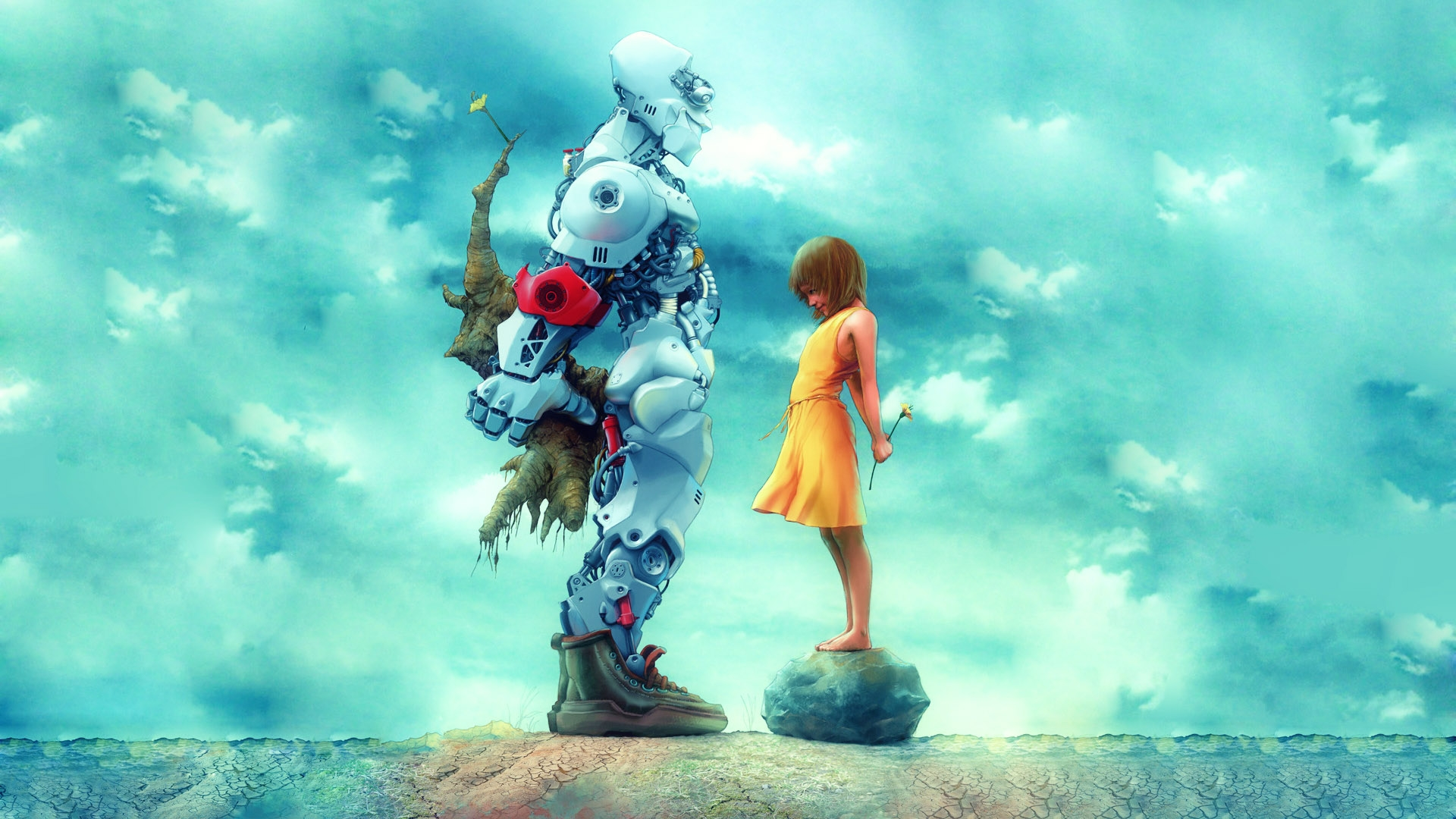 Cute Robot HD Wallpapers 15441   Amazing Wallpaperz 1920x1080