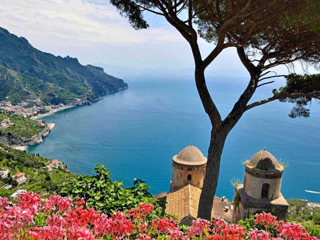 Desktop Wallpapers Mountain Amalfi Coast Italy 1024x768