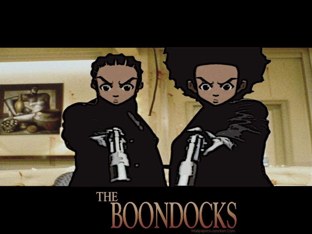 Boondocks Cartoon Wallpapers 1024x768