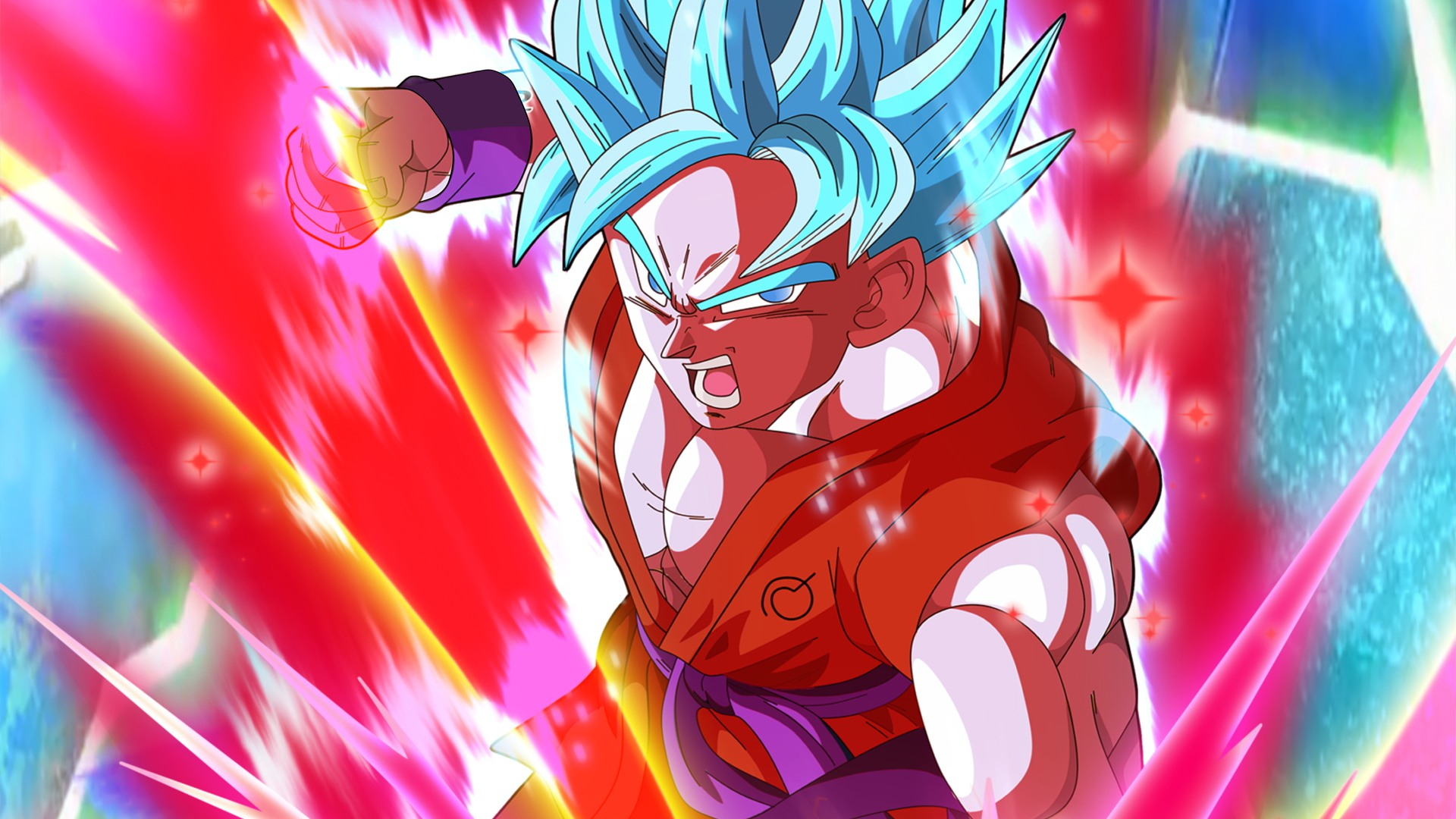 35 Goku Red Wallpapers On Wallpapersafari