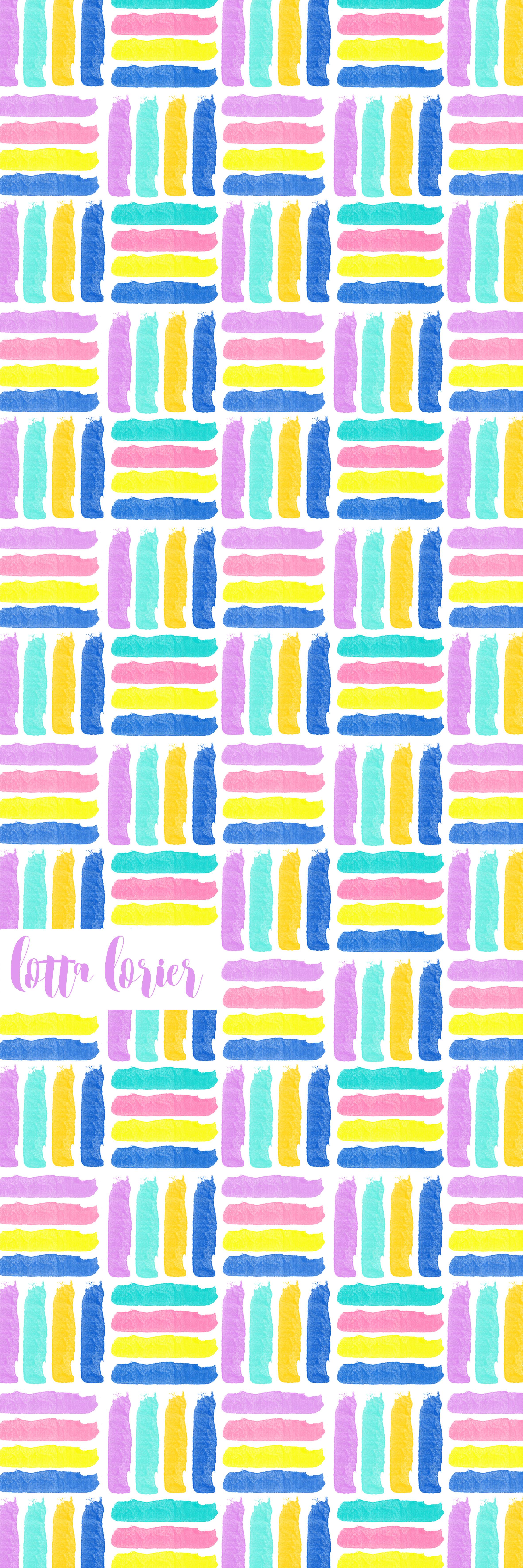 90s throwback neon pastel Lotta Lorier Prints Patterns 1 2362x7087